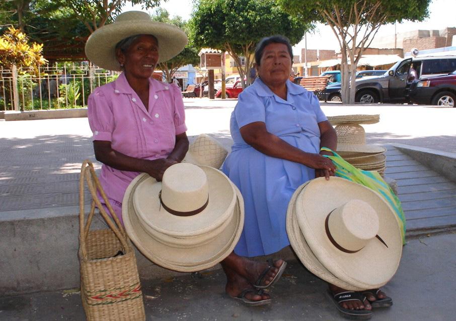 Sombrero de paja de Catacaos es Patrimonio Cultural de la Nación ... f7ac5160419