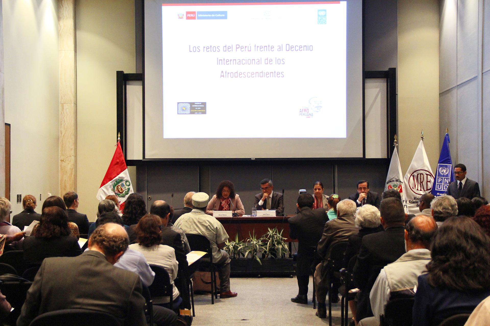 Ministerio de cultura realiz conversatorio los retos del for Ministerio de inter