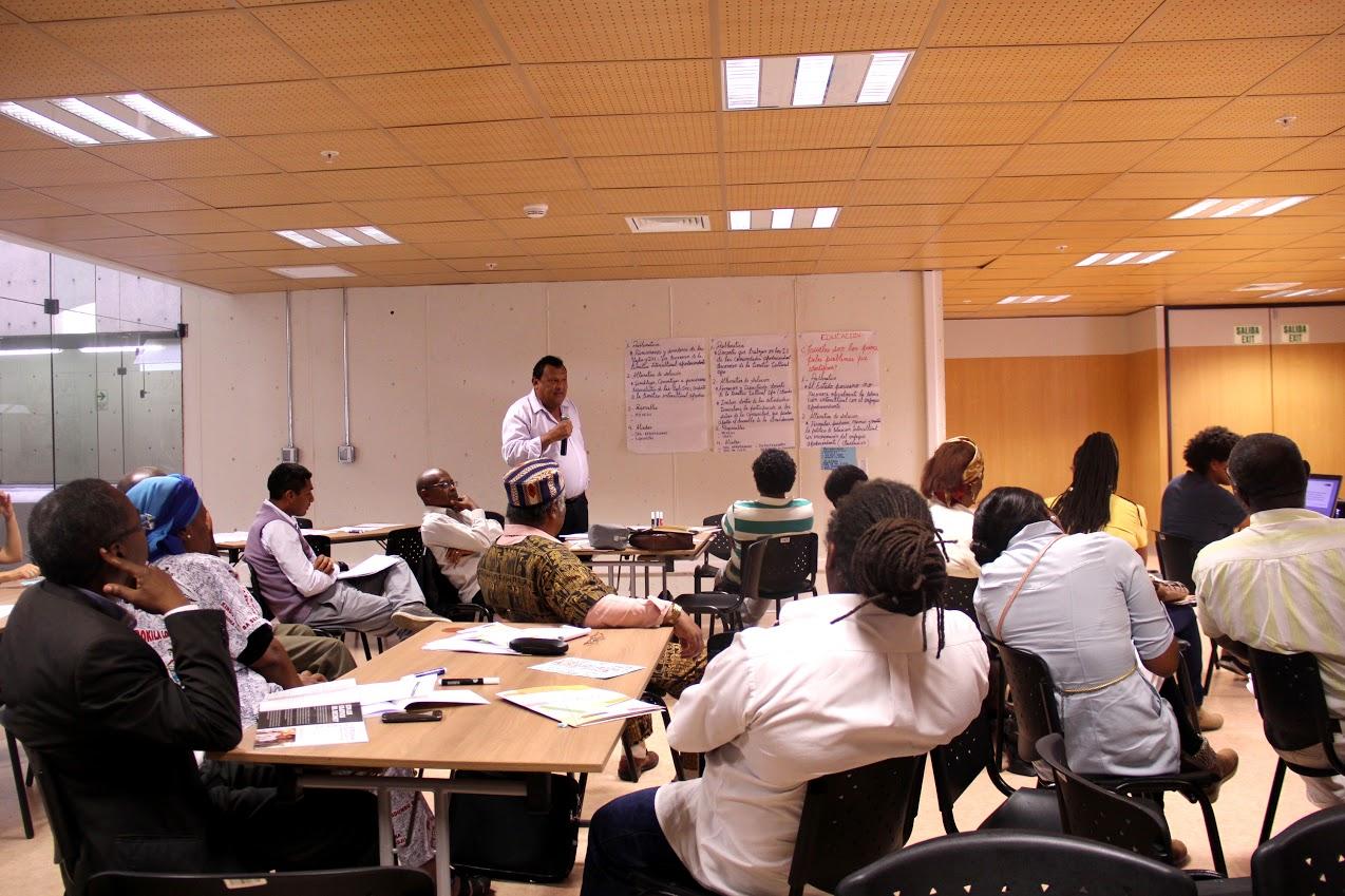 Organizaciones afroperuanas se re nen para elaborar la for Ministerio de inter