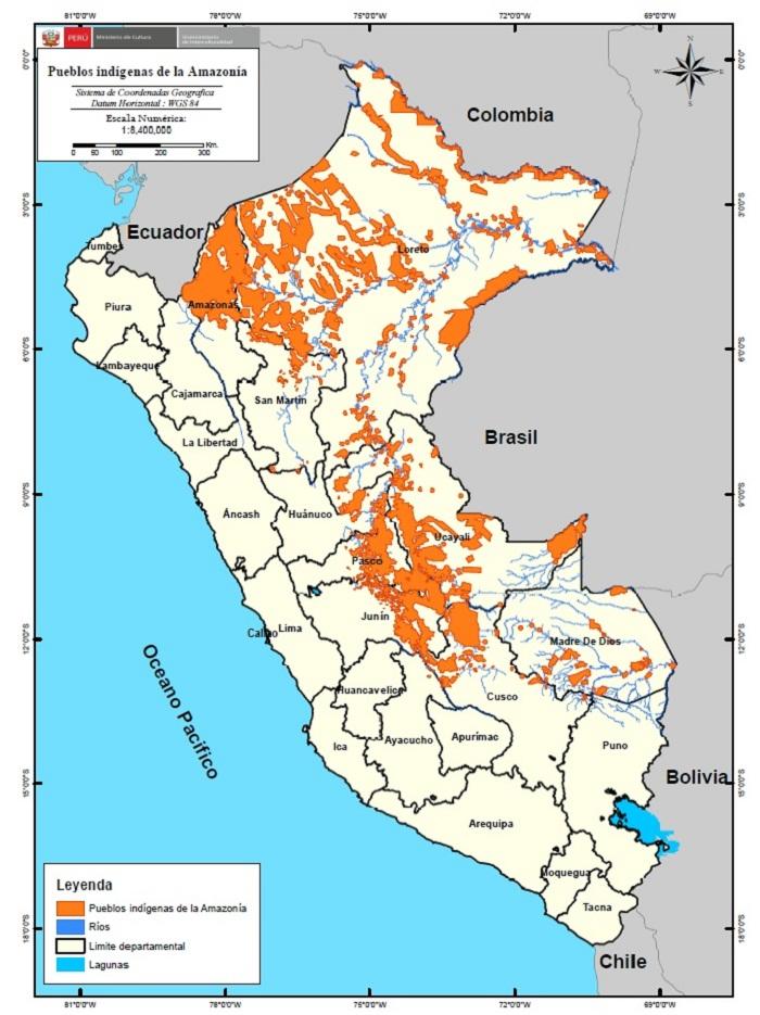 Ministerio de cultura publica listado de comunidades for Ministerio del interior ubicacion mapa