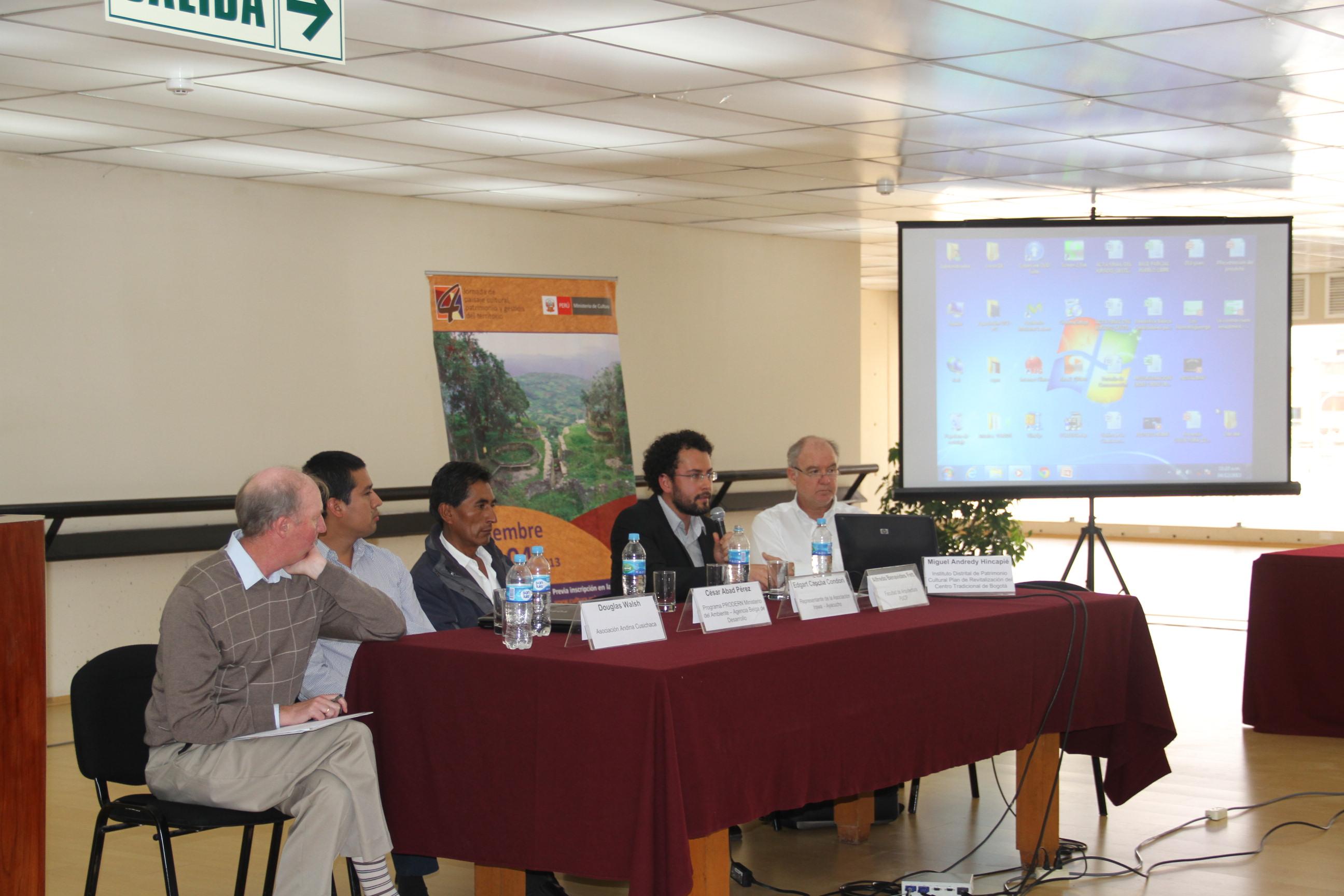 Ministerio de cultura realiza seminario internacional de for Ministerio de inter